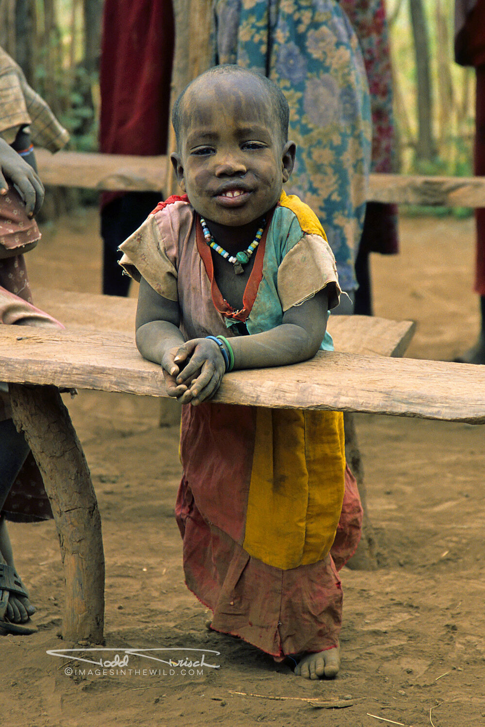 Maasai School Girl
