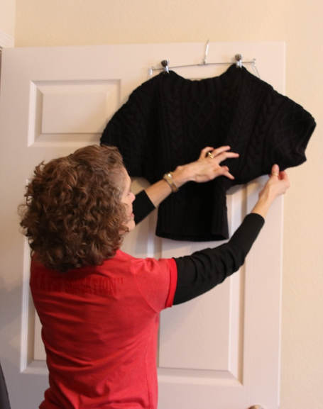 Photo: Carolina O'Neal//Carry Explaining Dolman Sleeves