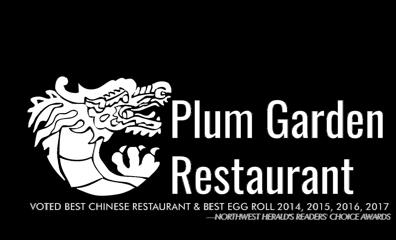 Menu Crystal Lake Plum Garden Restaurant
