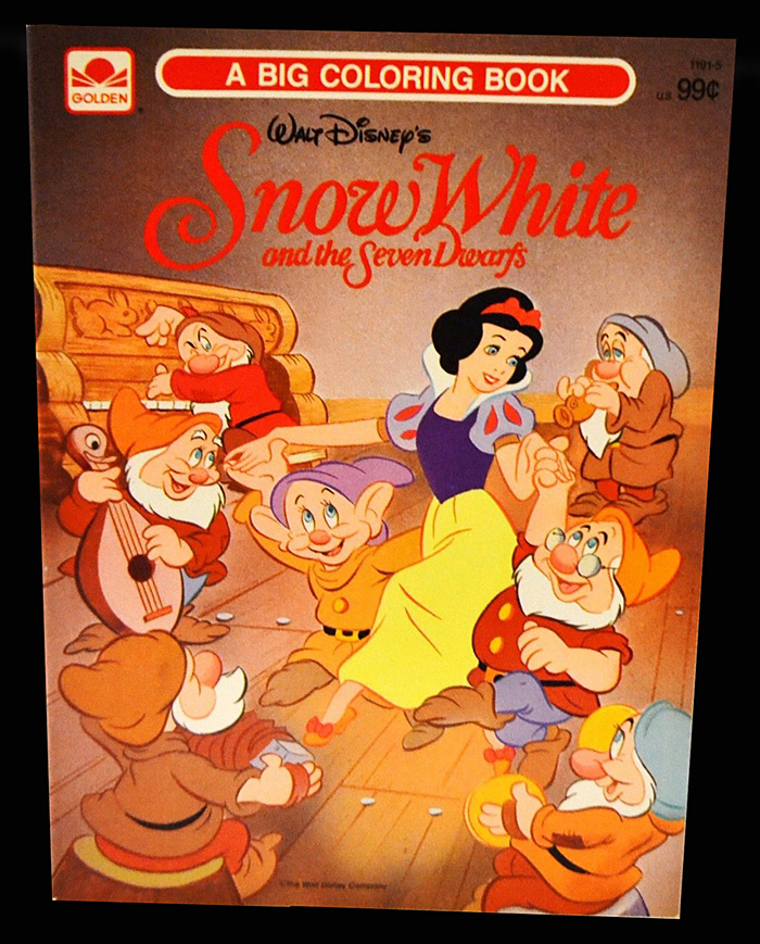 Comic Mint Animation Art Snow White And The Seven Dwarfs A Big