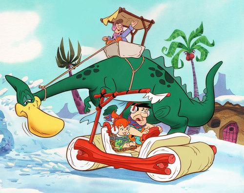 comic mint animation art a flintstones christmas carol book