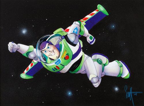 comic mint animation art buzz lightyear by scott westmoreland