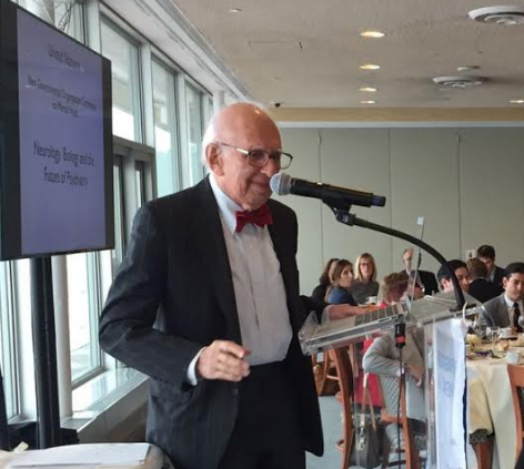 UN NGO Committee on mental health 20th anniversary gala luncheon 21 october 2016, keynote speaker: eric R. kandel m.d., 2000 nobel prize in medicine, university professor, kavli institute for brain science, department of neuroscience, columbia university