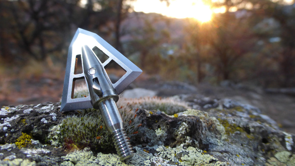 We Rely on Accurate Broadheads - With arrow released and quarry down range, we rest in confidence that our broadheads fly true. Like you, we put a lot of time, energy, and resources into making sure our bow setups are precision tuned. Our low-profile blades are engineered to work with the rest of your setup to pierce through the elements and connect precisely on target.