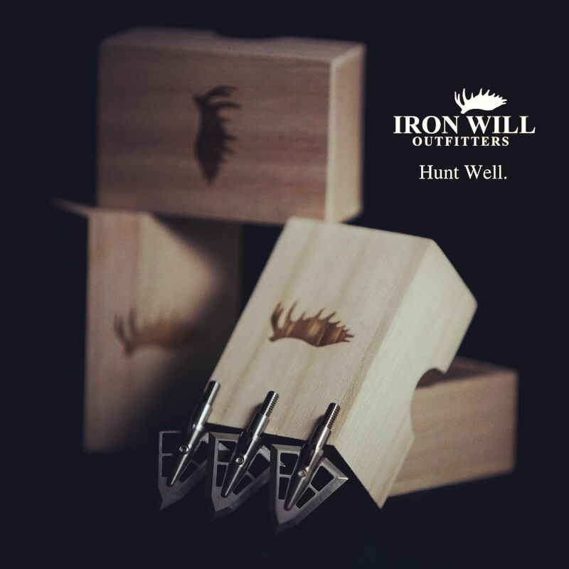 LIFETIME GUARANTEE: We stand behind the strength and durability of our broadheads. Others say it, we actually do it. No limitations, no stipulations, no jumping through hoops. If your  #broadhead  breaks for any reason, Iron Will Outfitters will replace it, free of charge.