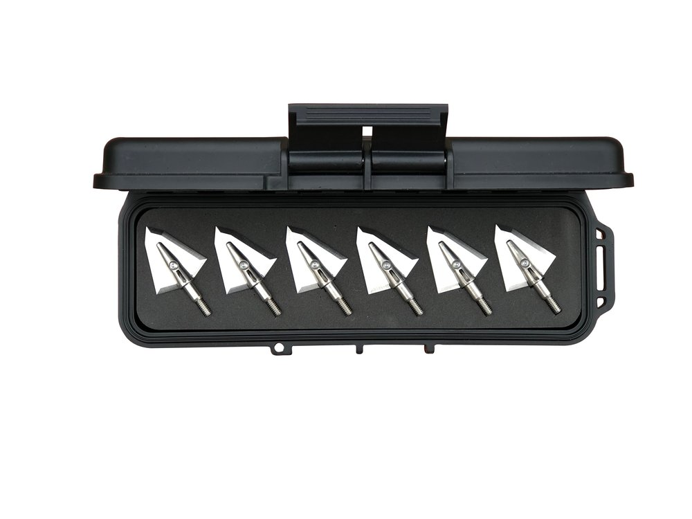 Travel Case with 6 Broadheads - Starting at $214.95