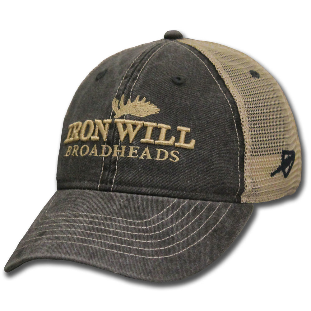 Iron Will Mesh Cap - $24.95