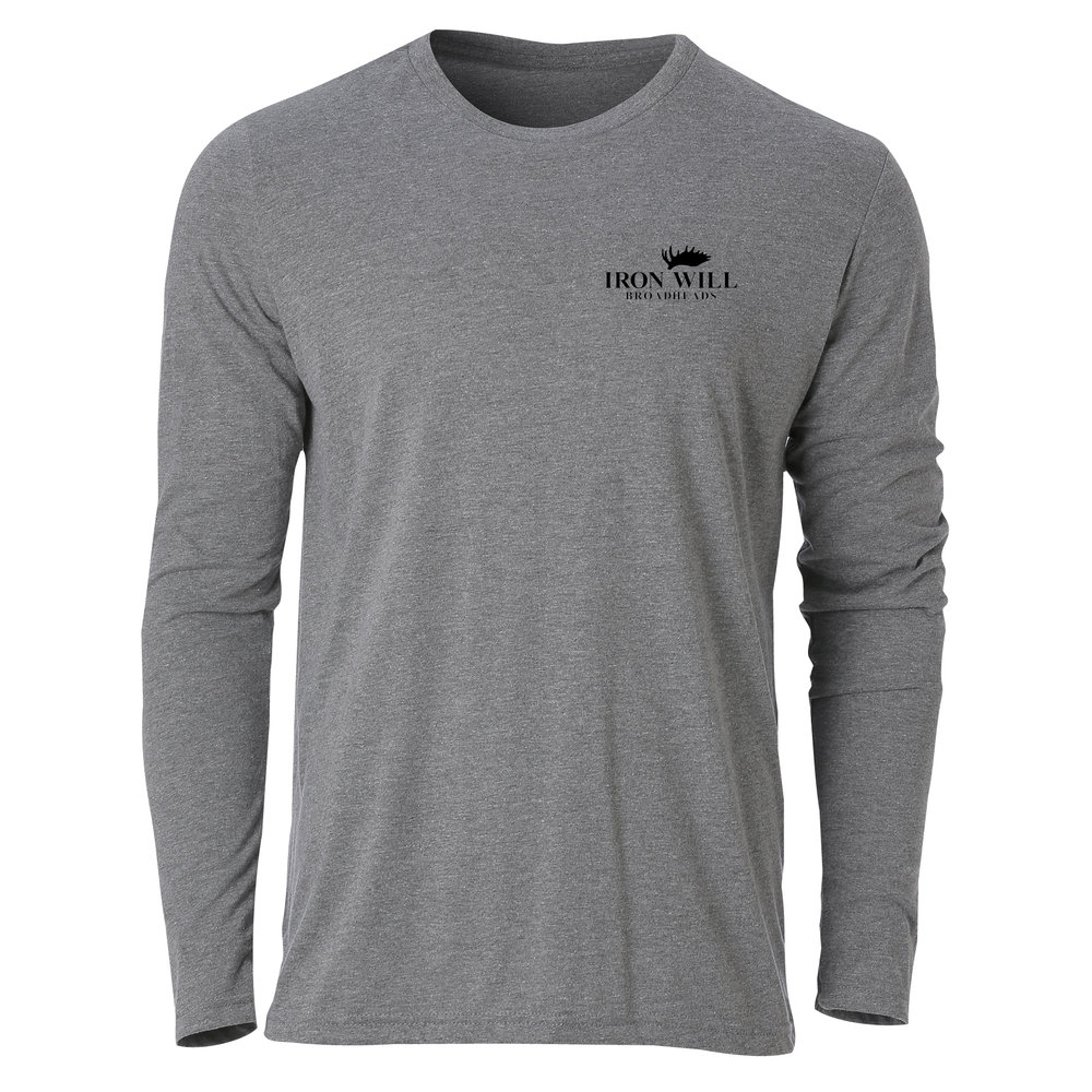 Long Sleeve T-Shirt - Grey - $34.95