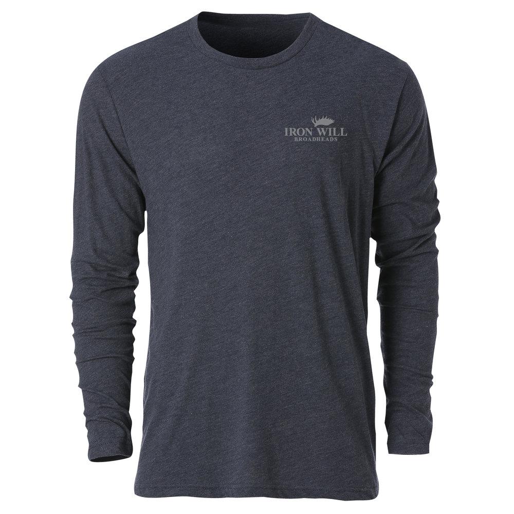 Long Sleeve T-Shirt - Blue - $34.95