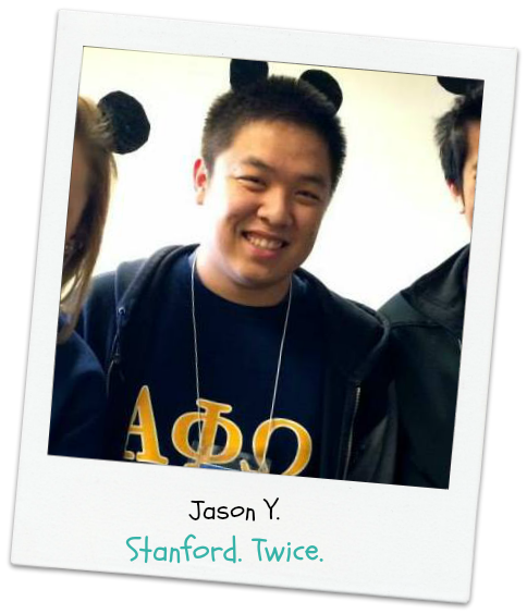 Jason,  College Essay Excellence  grad. Now Mr. Fancy Ears at Stanford. Again.