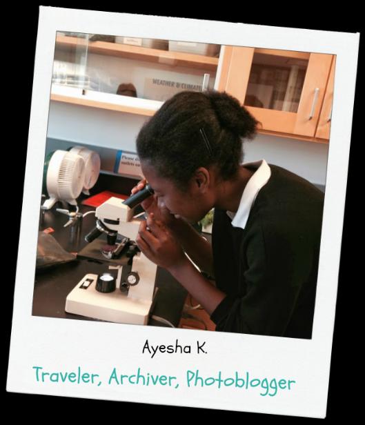 Ayesha,  Standout Student .                      Eye on Columbia University