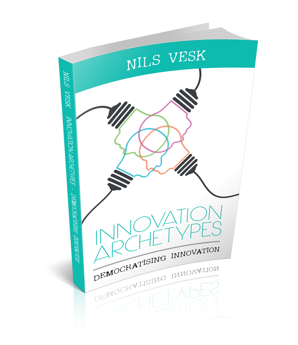 2015: Nils completes prototype of theinnovation book 'Innovation Archetypes'