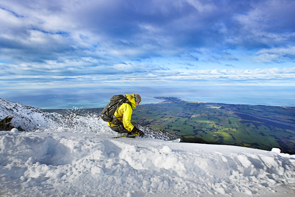 Mt Lyford ski resort is only 1.5 hours from Kaikoura.