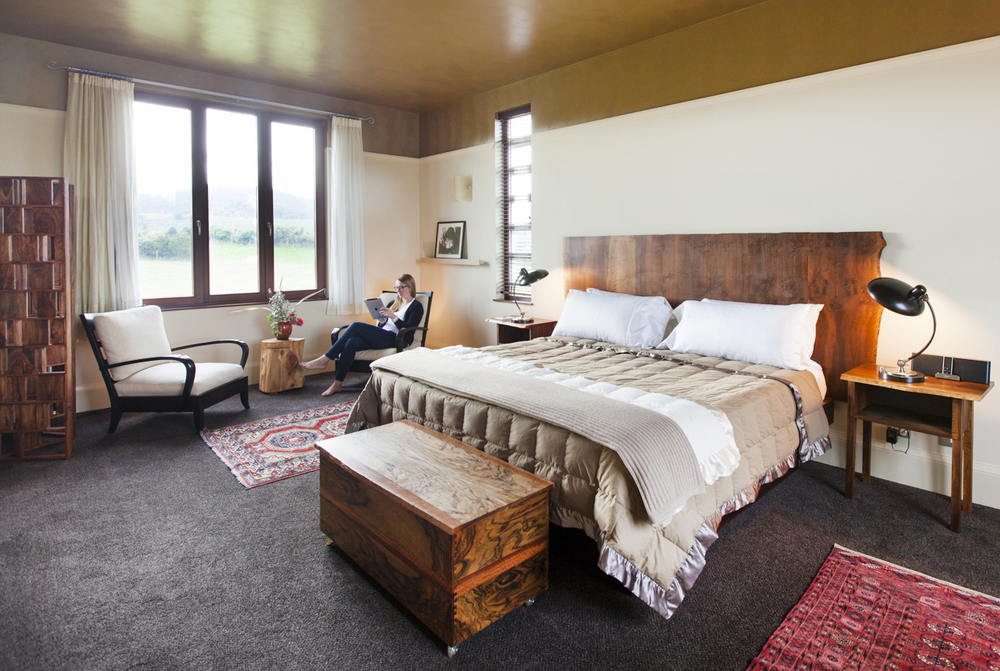 "Some guests have said our custom designed beds are, ""the most comfortable beds in the South Island."""