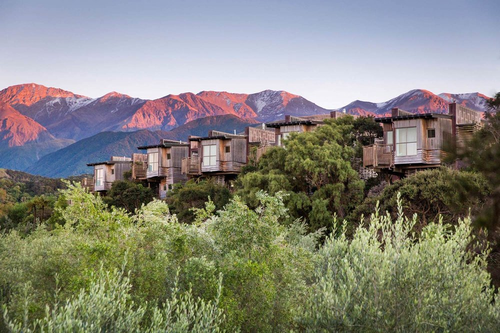 Luxury Accommodation New Zealand South Island Hapuku Lodge Tree Houses Kaikoura
