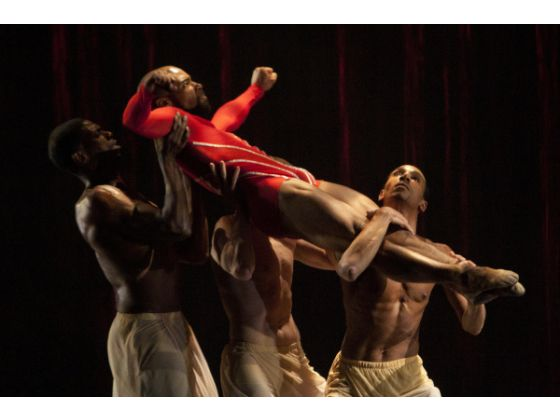 Vincent Hardy with GaryJeter, and Clifford Williams in Complexions MERCY.