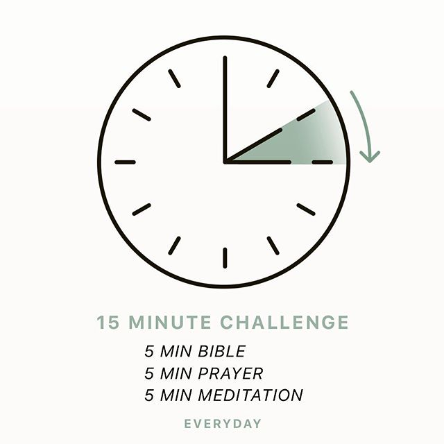 Start the 15 Minute Challenge today! 5 Minutes reading the Bible!  5 Minutes praying for friends and family!  5 Minutes listening to Christian music in meditation!  Need help? Ask your split group leader today.
