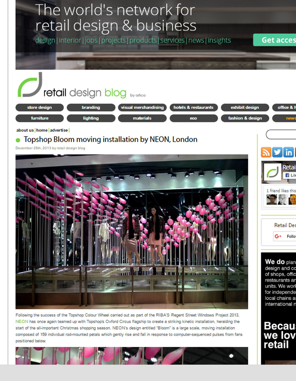 BLOOM - Retail Design Blog