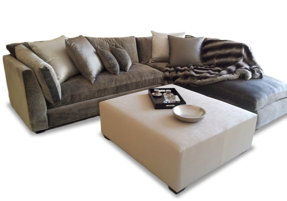 Corner Sofa / Modular With a wide range of corner and modular sofas we can assure to brighten your space. With the ability to choose your own materials we can build your sofa to your taste. Call us today were our friendly team can guide you through the process and happily help.