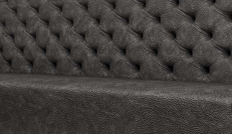 Deep Button This is one of our most requested designs which is inspired from the classic Chesterfield which creates a perfect seating type for any contemporary or traditional interior.
