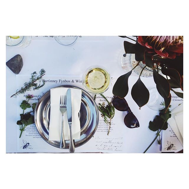 Beautiful table setting captured by @definitely_maybe_  #capetown #harpershouse #eatsplorer #hotel