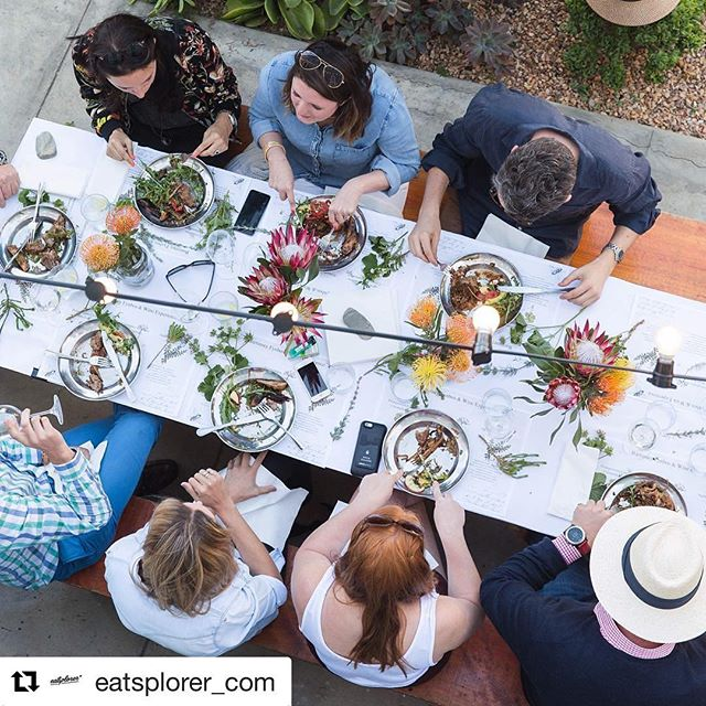 #Repost @eatsplorer_com with @repostapp ・・・ Incredible long table feast with @harpers_house yesterday!!! Bringing together all the good things in life - friends, great wine and delectable food - all rolled into one long lazy lunch celebration! #Argies, #bartinney photography @k.groenewald