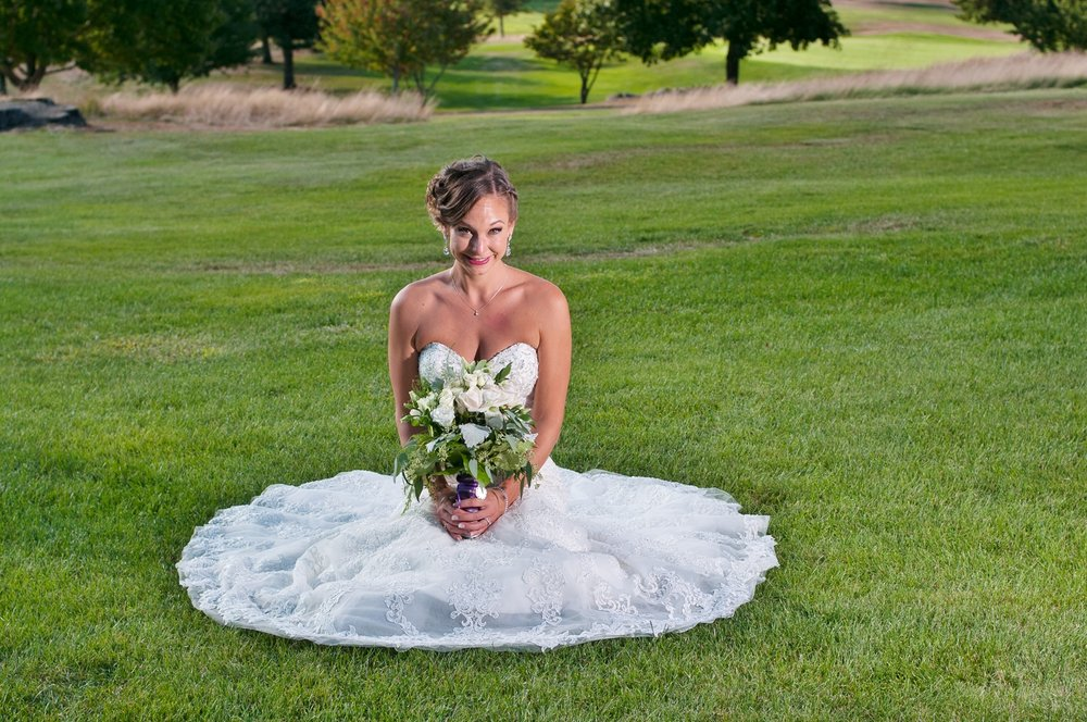 Bride Grassy Hill Country Club