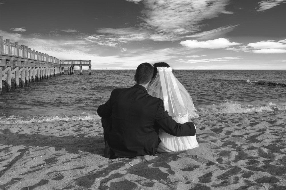 Wedding Milford Beach