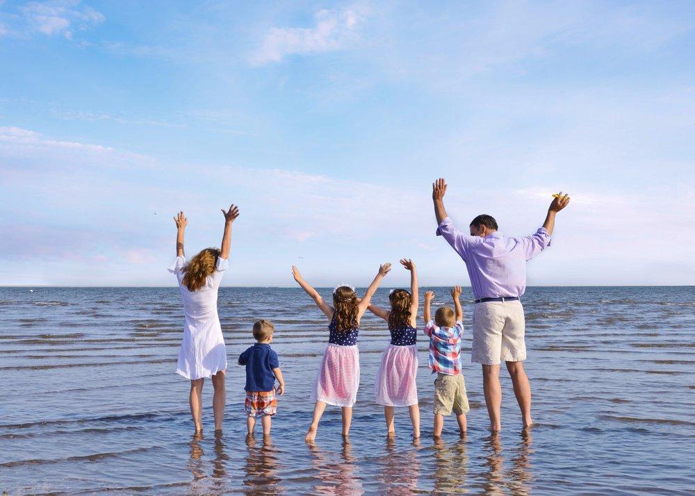Family Portrait West Haven Beach