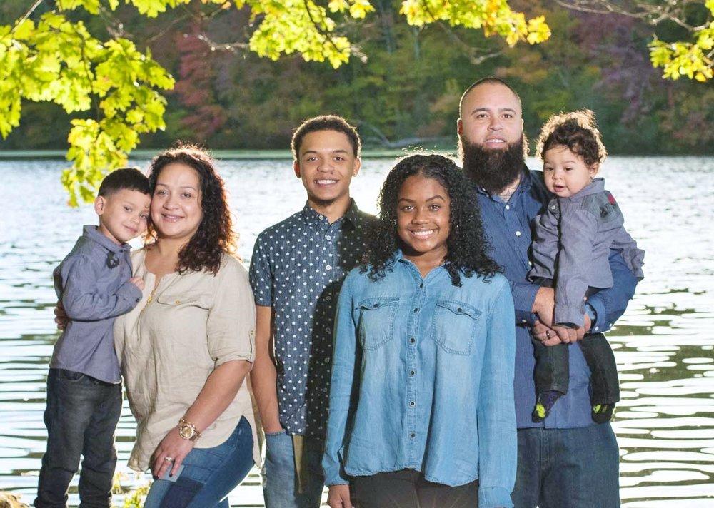 Family Shoot by a lake