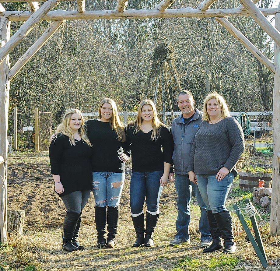 Family Shoot at a farm