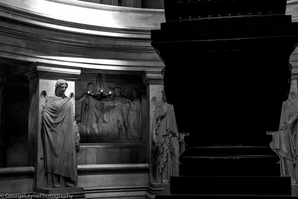 Napoleon's sarcophagus.