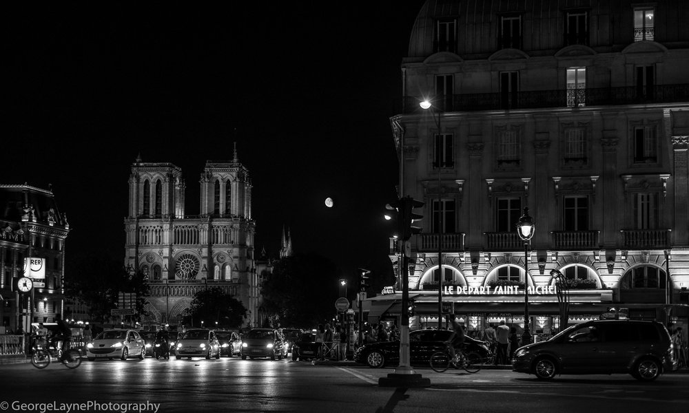Paris at Night - my favourite image.