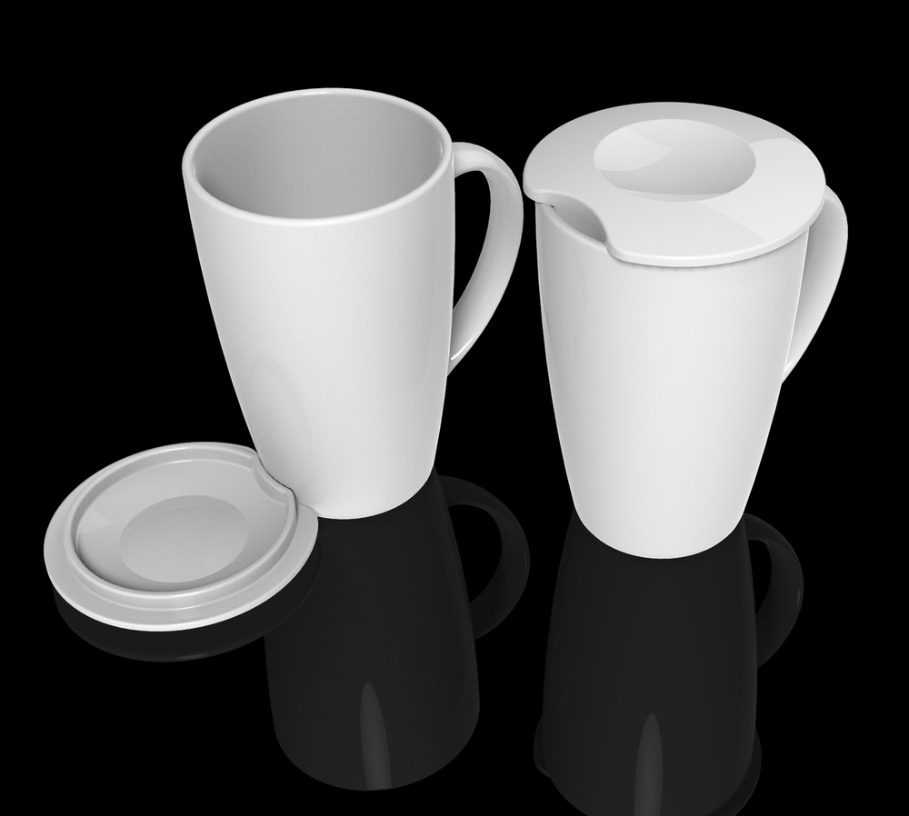 Copy of Computer generated renders used during the development process - here showing a ceramic TEAPY®
