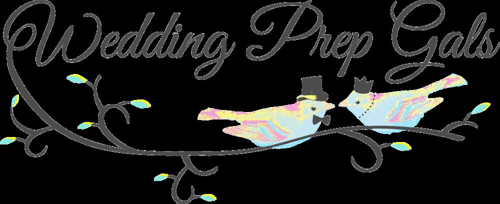 wedding prep gals logo