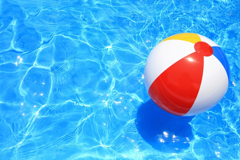 Pool Water With Beach Ball green turtle fiberglass pools