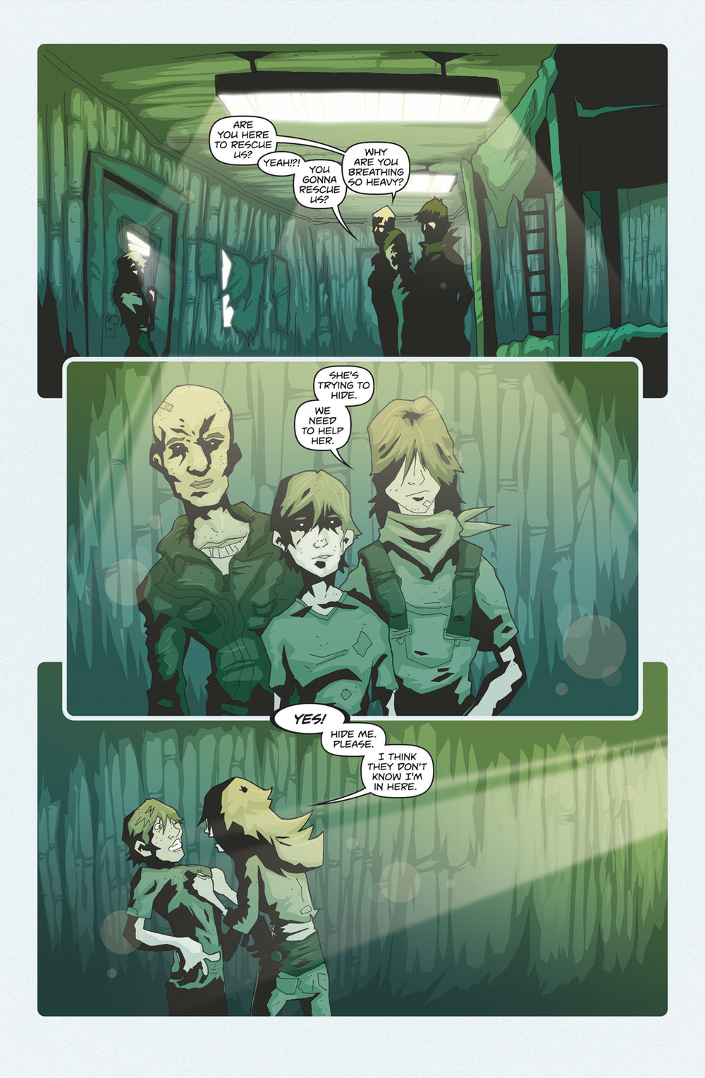 Dusk Chapter 4 - Page 1