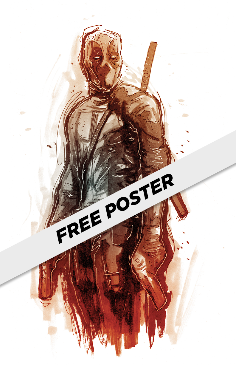 "The real poster won't say ""FREE POSTER"" on it. Pretty cool, right?"