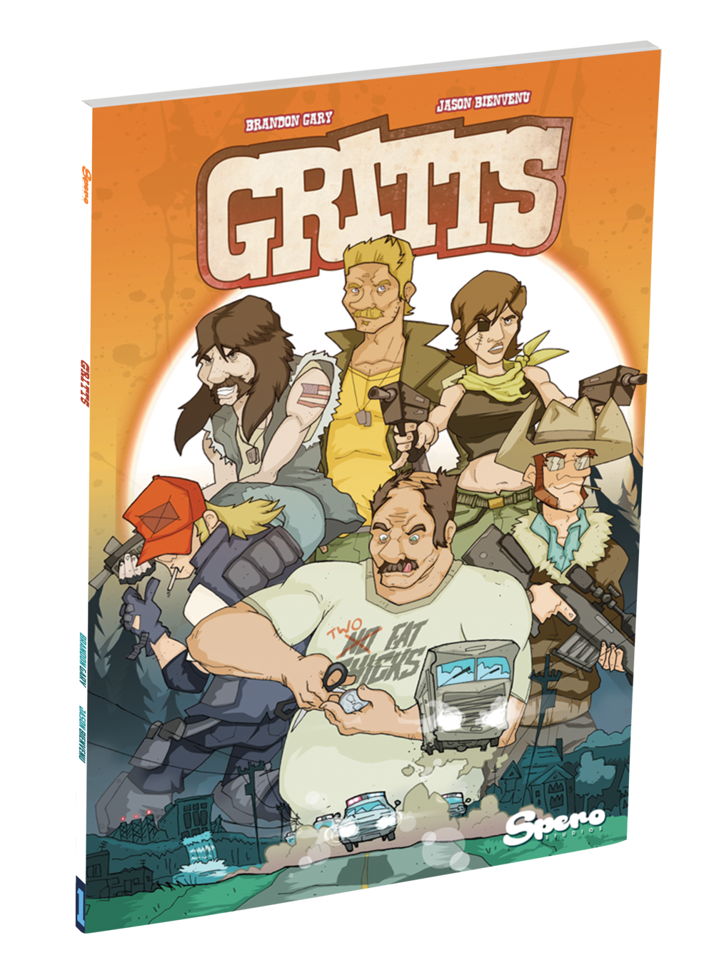 Gritts Comic Book Cover