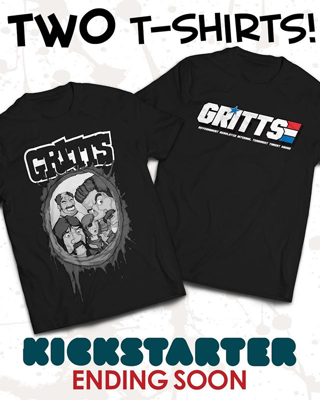 Your choice of shirts at $45, or get both at $75 and higher pledges! Plus get tons more! LINK IN BIO @sperocomics @sperotoys Ends this Friday! Pledge today! #comics #giftideas #80s #90s #gijoe #theateam #graphicnovel #kickstarter #crowdfunding #indiecomics #cyberdeals #fun #comedy #reading #nyccomiccon #comic #comicbooks #art #instaart #blackandwhitecomics #rednecks #giftidea #forhim #payitforward #supportindiecomics