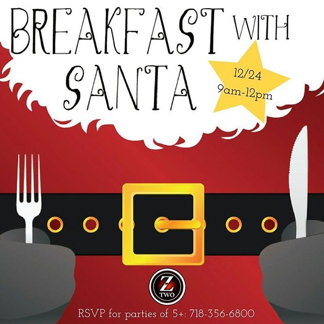Don't let the kids miss out on a chance to have breakfast with Santa! 🎅 🎄🎁🍳🍞