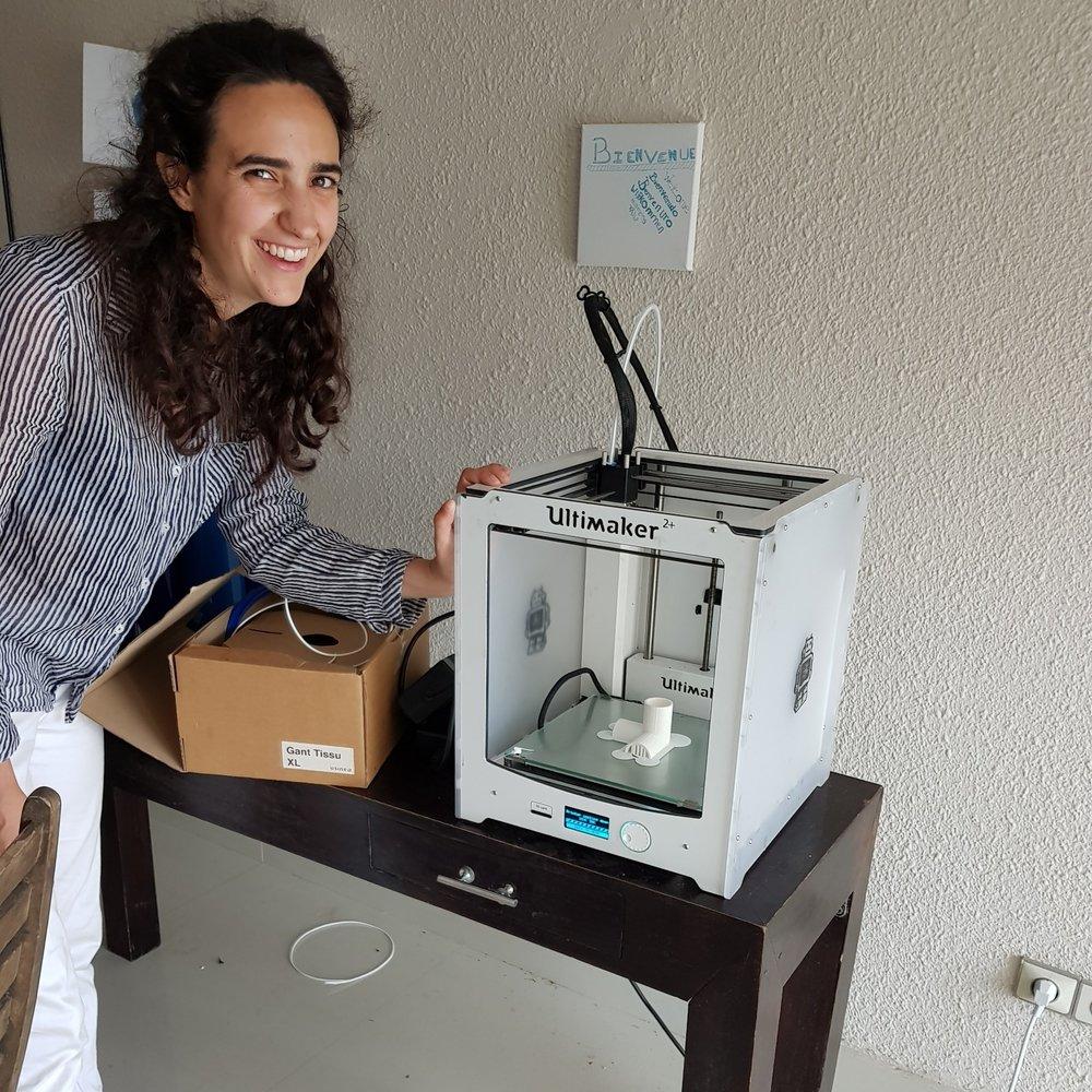 Izar Mediavilla - Fabmanager pour Tilt - été 2018
