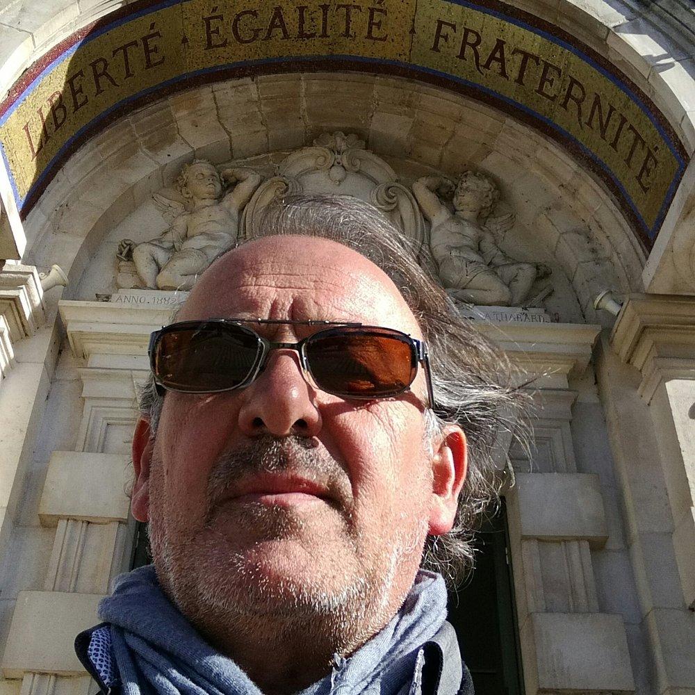 Jean Paul Sportiello - Bénévole. Chargé de communication et relations presseJournaliste. Artiste plasticien à ses heures