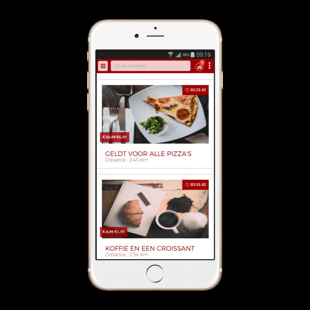 Restoranto app