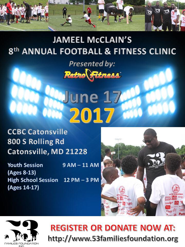 Football & Fitness Clinic Flyer