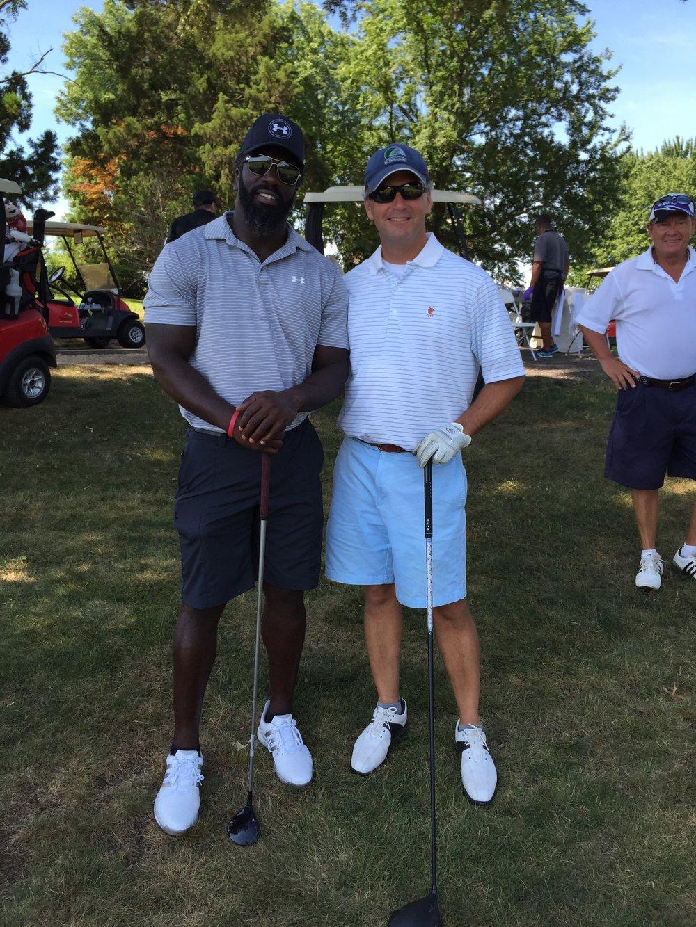 Seth and Ed at 2016 Ed Reed Foundation Golf Classic.JPG