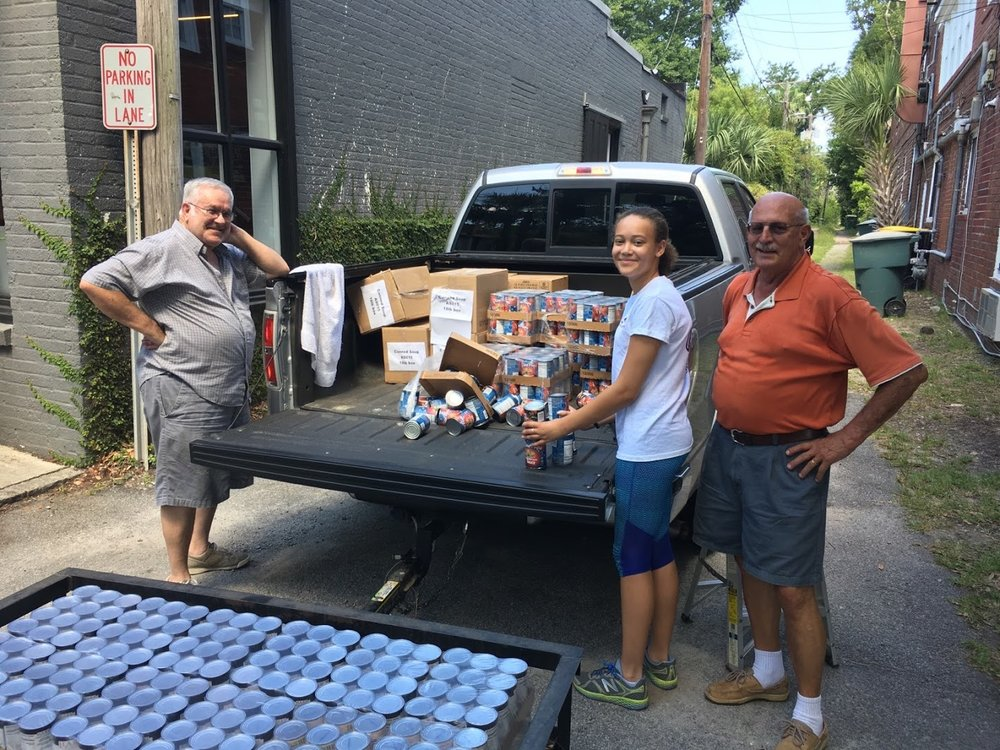 Canned Food Delivery at the I AM Food pantry