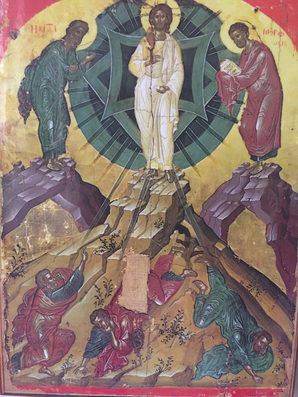 Transfiguration of the Saviour,Stavronikita Monastery, Athos, Greece, 16th Century