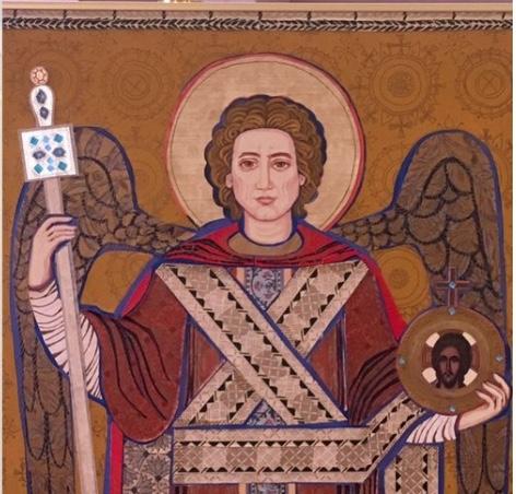 Saint Michael the Archangel by Louise Shipps