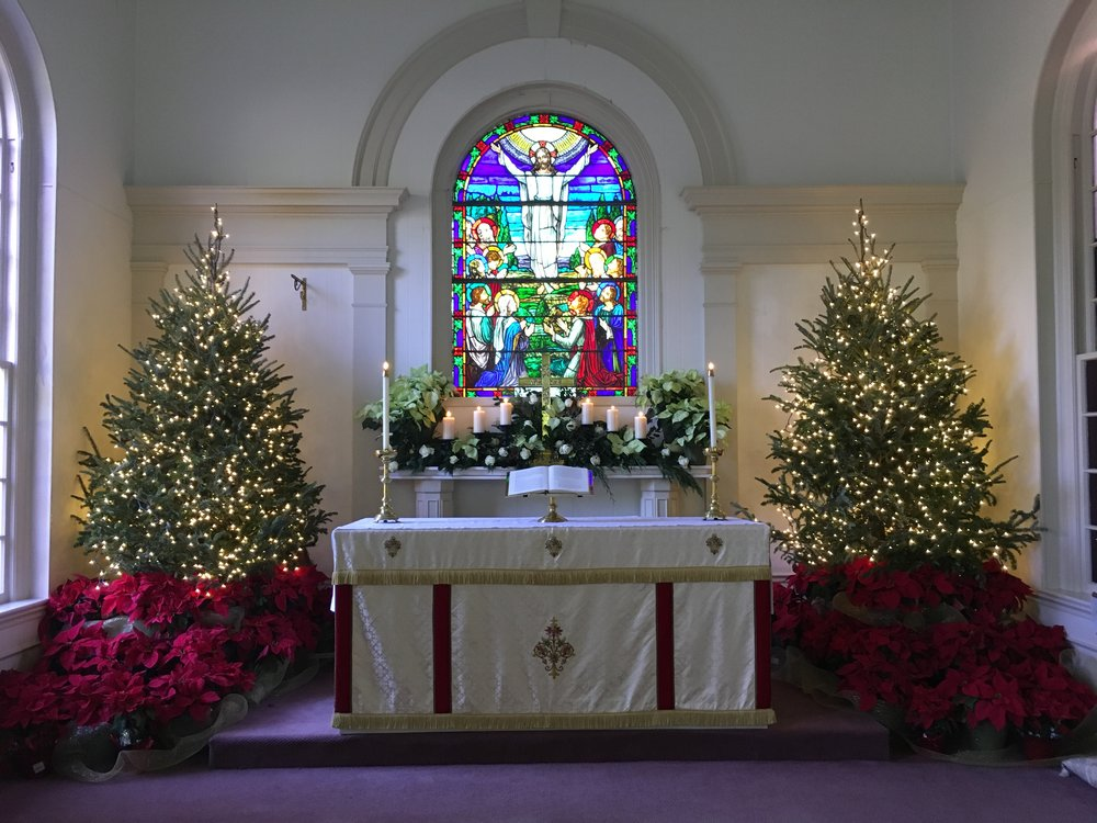 by now we should all be aware of st michaels schedule for christmas eve 4th sunday of advent 4 at 900am and christmas eve at 500pm with decorating of - Christmas In St Michaels